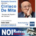 Intervista a Ciriaco De Mita - Diretta Live